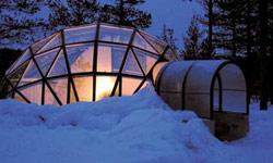 Hotel & Igloo Village Kakslauttanen: in Lapponia, tra saune e neve