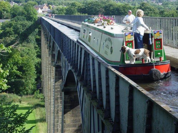 Gli acquedotti navigabili più belli d'Europa