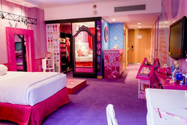 La Stanza A Tema Barbie All Hotel Hilton Di Buenos Aires