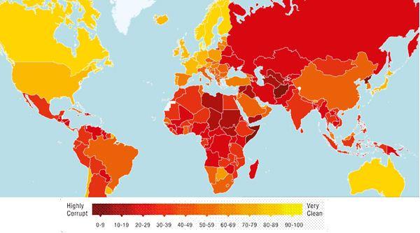 I paesi meno corrotti e più belli dove andare a vivere