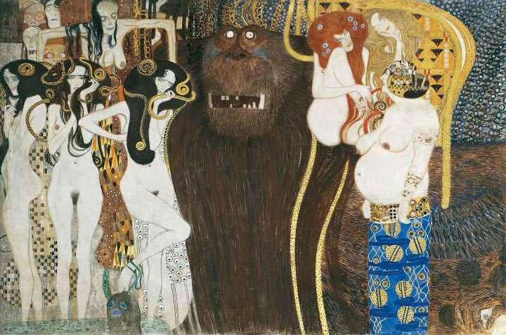 Klimt in mostra alla pinacoteca di parigi la secessione for Quadri belli