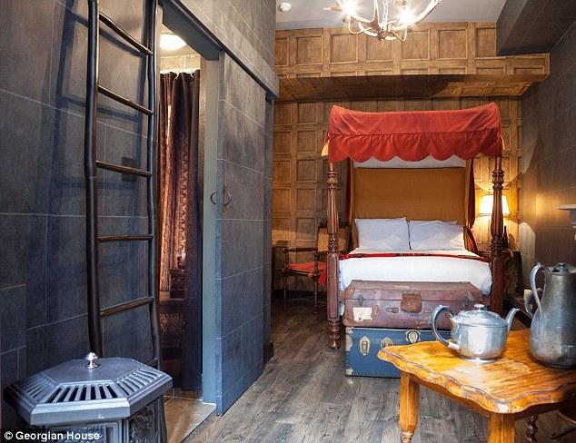 Le camere d 39 albergo a tema harry potter a londra - Camera da letto stile harry potter ...