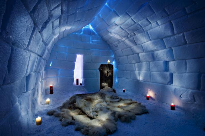 Gli hotel di ghiaccio pi belli del mondo for L hotel piu bello del mondo