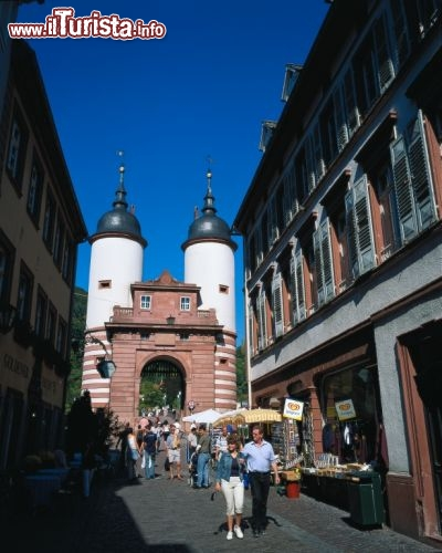 Immagine Steingasse a Heidelberg e la Bridge Gate - ©German National Tourist Board