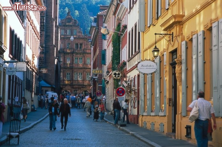 Immagine Haspelgasse a Heidelberg - ©German National Tourist Board