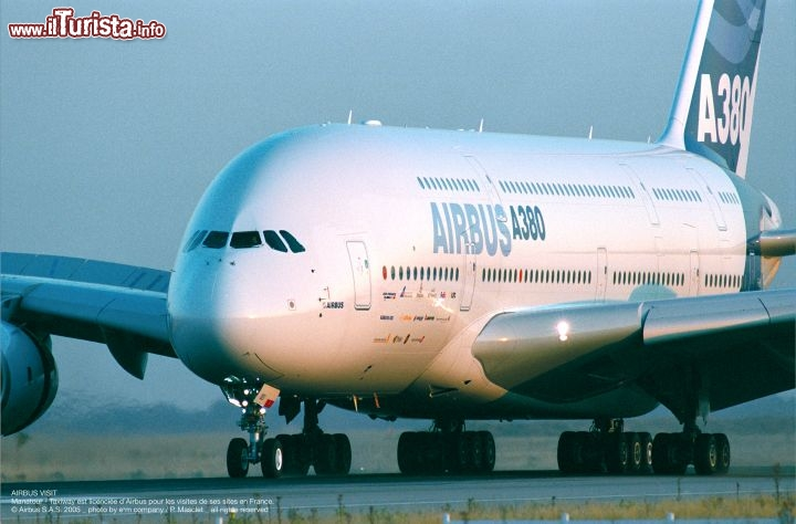 Immagine L'Airbus A380 si produce a Tolosa - © Airbus S.A.S