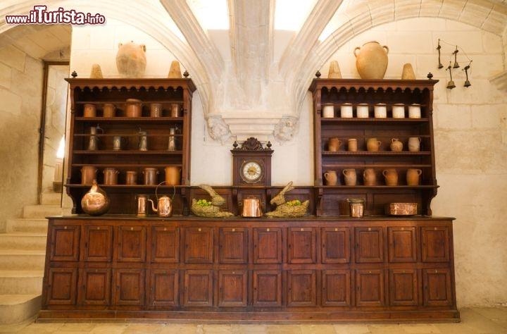 Antiche cucine all\'interno del Castello di ... | Foto Chenonceaux