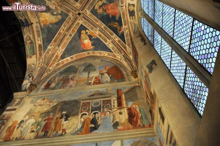 Basilica di San Francesco ad Arezzo. La cappella ...