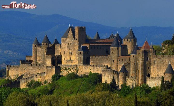 La cittadella di carcassonne nell 39 occitanie foto - Simboli di immagini della francia ...