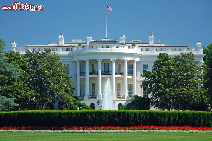 Immagine Casa Bianca (White House) a Washington DC,  USA - © Vacclav / Shutterstock.com