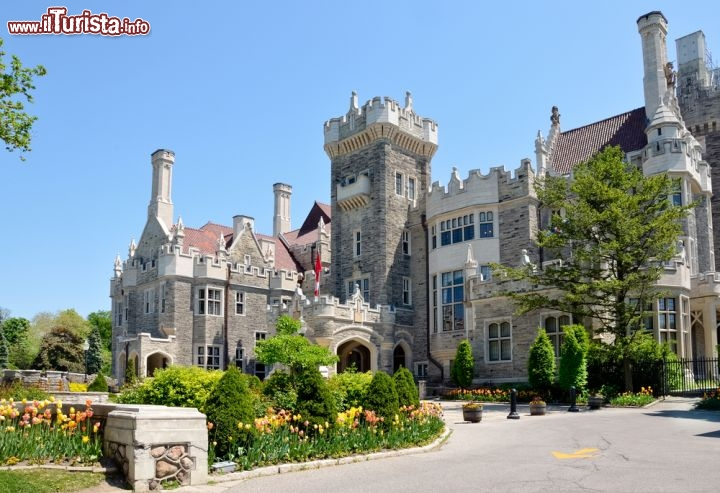Casa loma un ero e proprio castello a toronto foto for Disegni casa castello