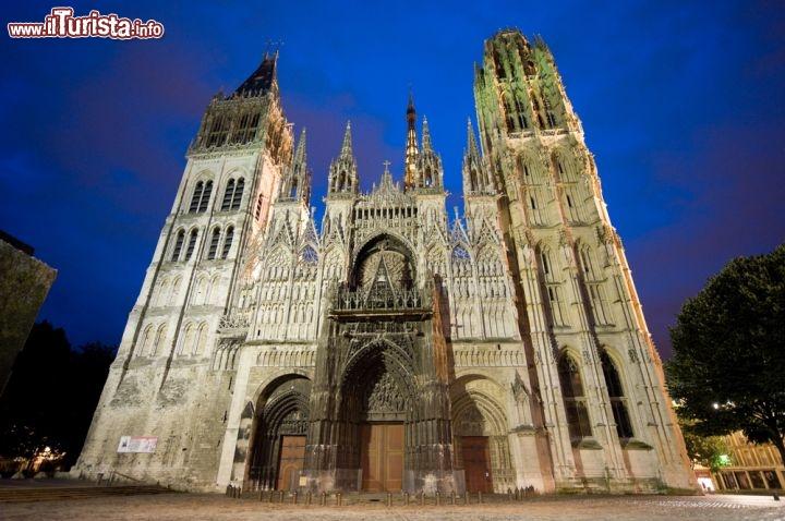 Cattedrale gotica di rouen un odei foto rouen - Simboli di immagini della francia ...