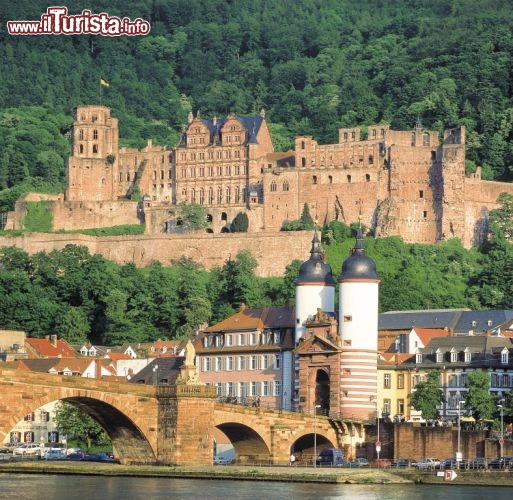 Immagine Città di Heidelberg: il ponte e il castello - ©German National Tourist Board
