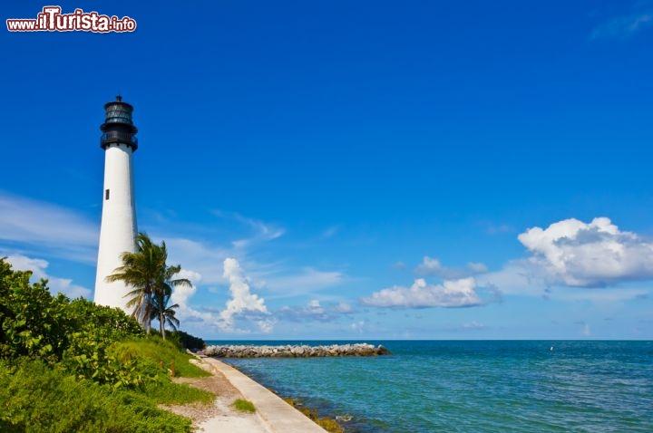 Faro Di Cape Florida Miami Il Faro Fu Costruito