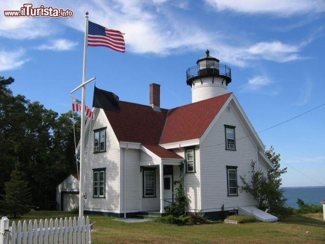 Immagine Faro di West Chop Martha's Vineyard - @ Sarah Kennedy