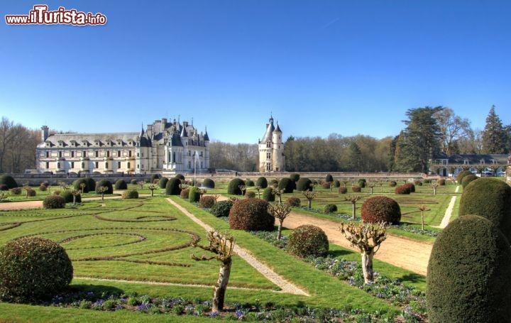 I giardini del castello di chenonceau sicuramente for Case del castello francese