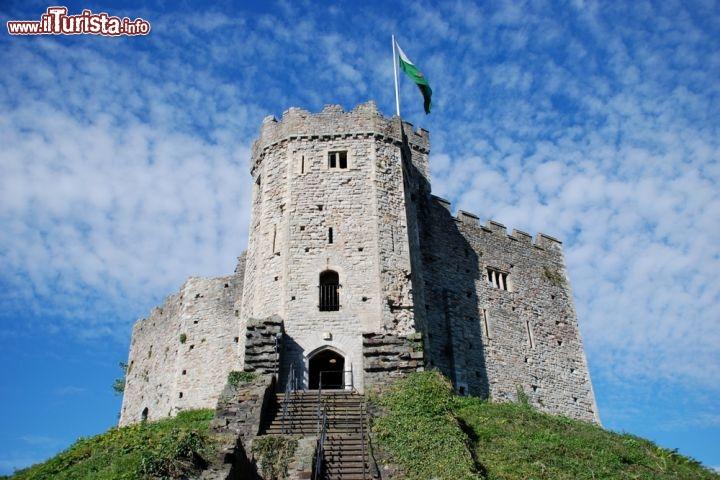 Il castello di cardiff uno dei simboli foto cardiff - Foto di uno shamrock ...