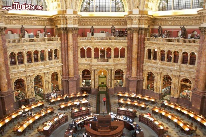 Jefferson Library La Biblioteca Del Congresso Foto