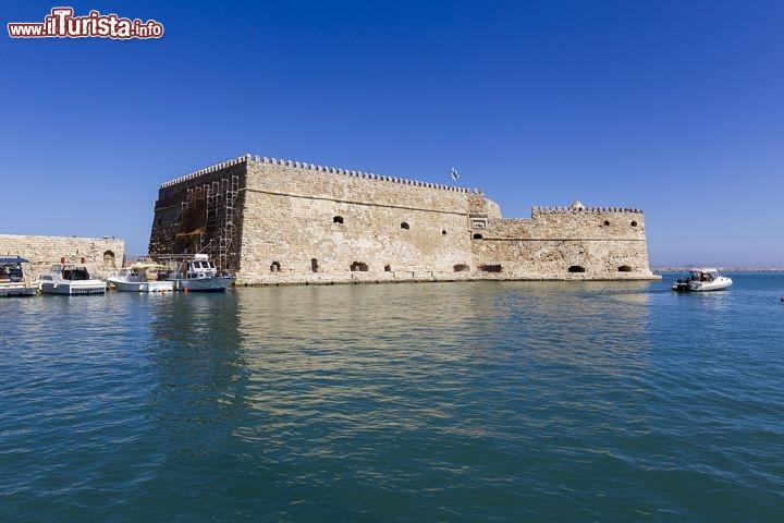 Fortezza Veneziana Di Koules A Creta Grecia Foto