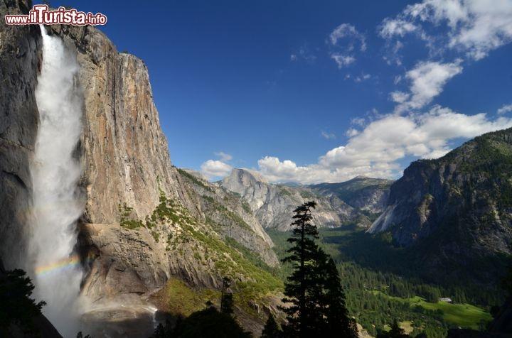 La Grande Cascata Del Parco Nazionale Di Yosemite