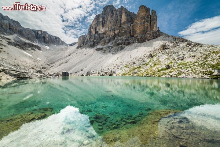 Lago del Pisciadù, Corvara - Con ...  Foto Corvara