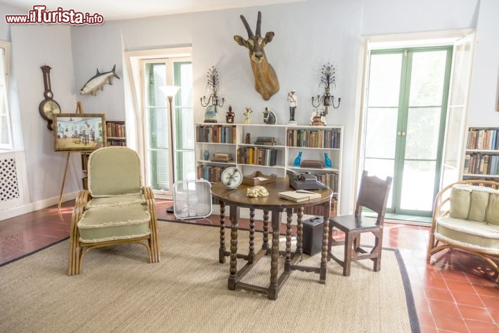 Lo studio di ernest hemingway a key west florida for Stile key west