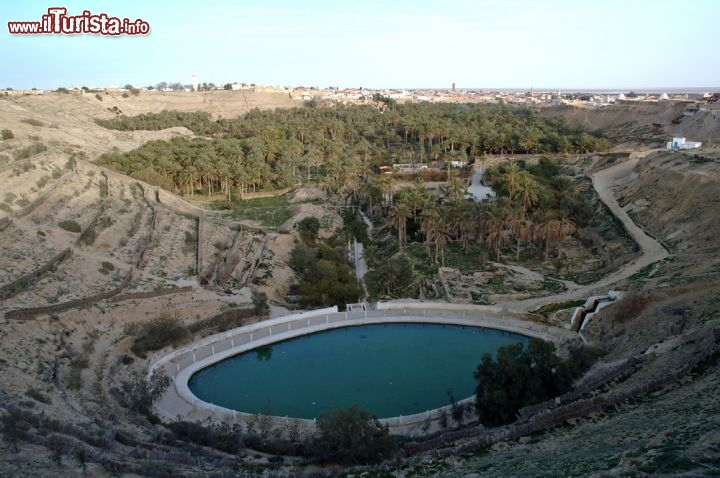 Nefta Tunisia  city photo : Oasi di Nefta, vicino a Tozeur in Tunisia. E' ... | Foto Nefta