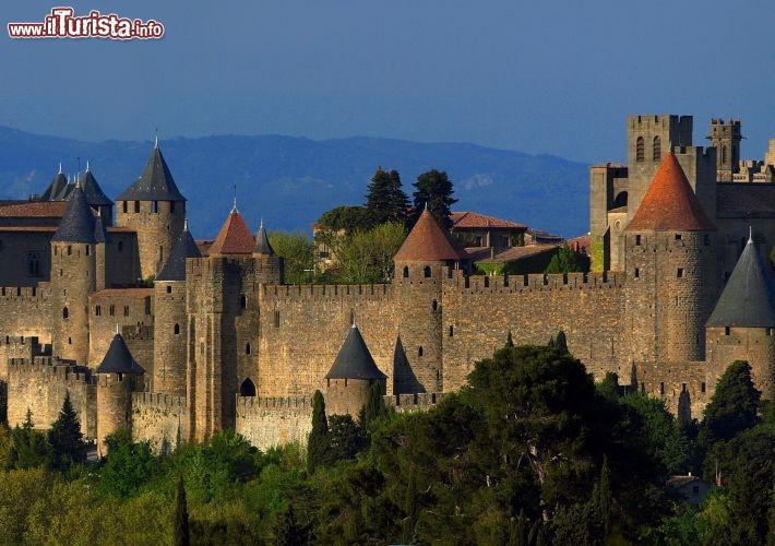 Carcassonne un borgo medievale della foto carcassonne for Disegni di casa sud ovest