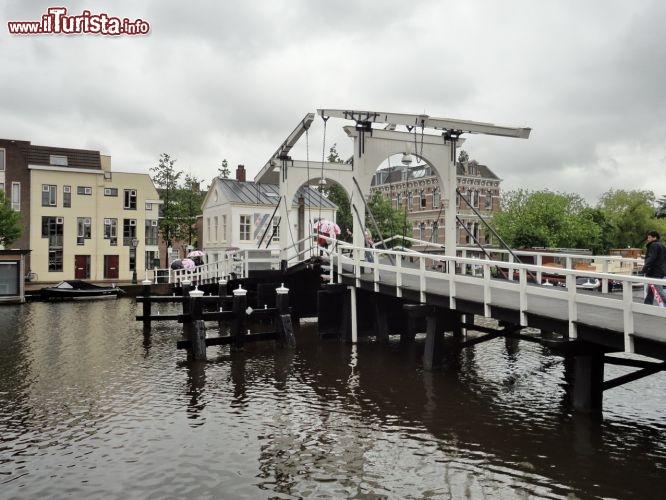 Ponte mobile a leiden nei paesi bassi foto leiden for Mobile a ponte