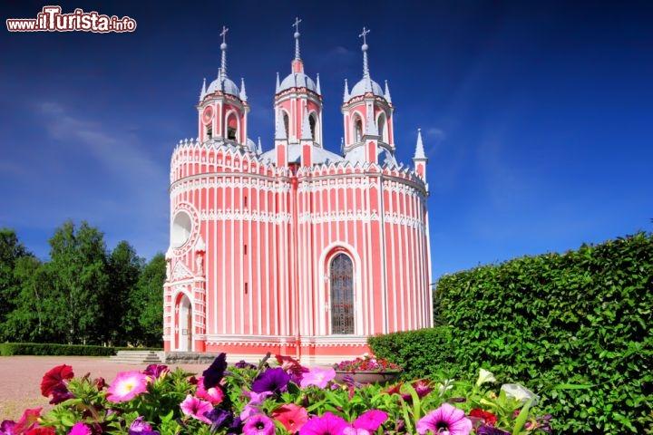 La chiesa di chesma di san pietroburgo foto san - San pietroburgo russia luoghi di interesse ...