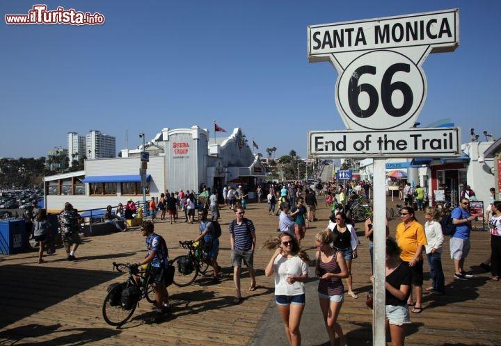 Le foto di cosa vedere e visitare a Santa Monica