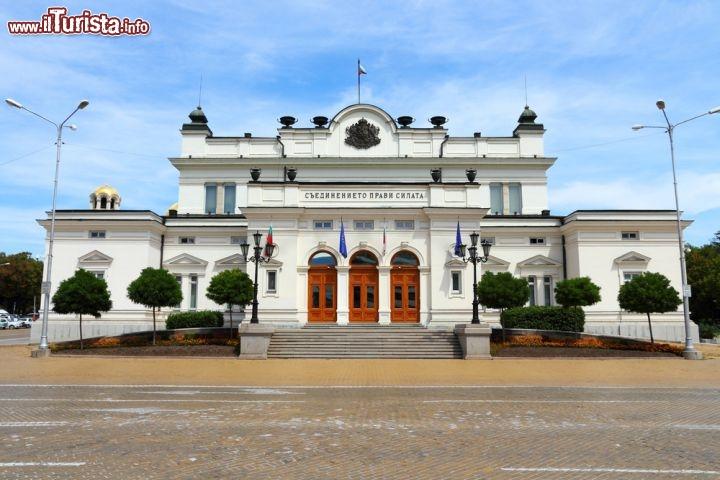 La sede del parlamento unicamerale bulgaro di foto sofia for Sede del parlamento