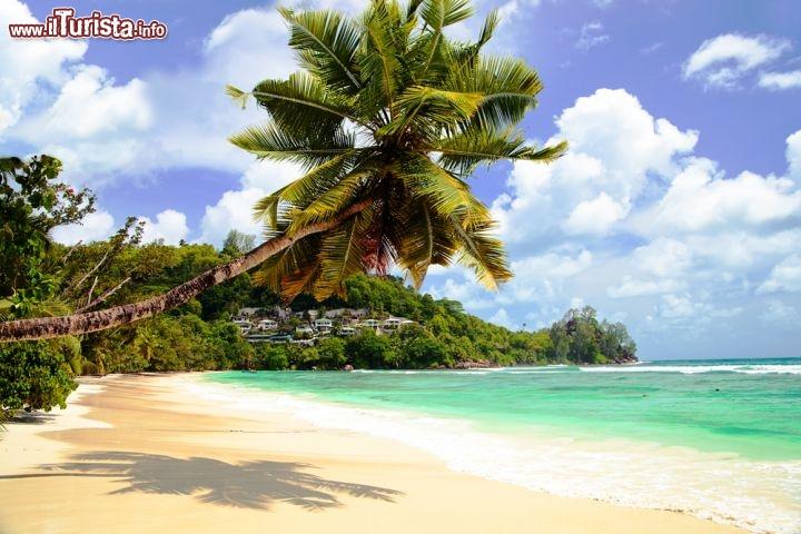spiaggia tropicale a baie lazare la baia si foto