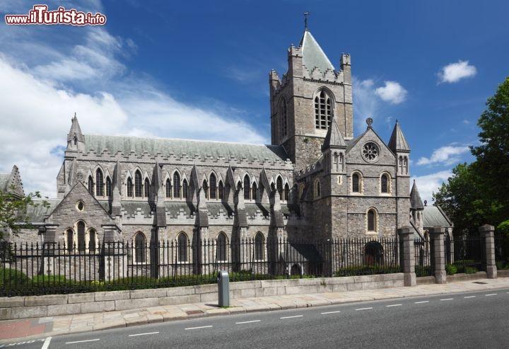 St Patrick Cathedral A Dublino La Capitale Foto