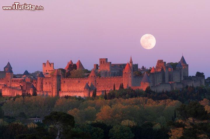 Tramonto a carcassonne francia del sud con foto for Cabine romantiche nel sud della california