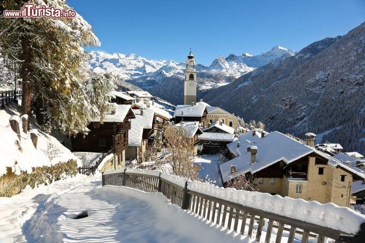Antagnod fotografata in inverno cortesia regione for Arredo bagno valle d aosta