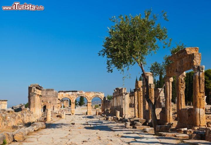 Via romana a hierapolis l 39 antica citt foto pamukkale - L antica toscana cucine da incubo ...