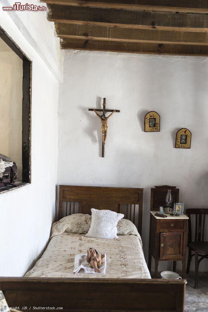 Un\'antica camera da letto spagnola del tardo ... | Foto ...