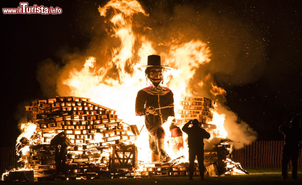 Bonfire night Londra