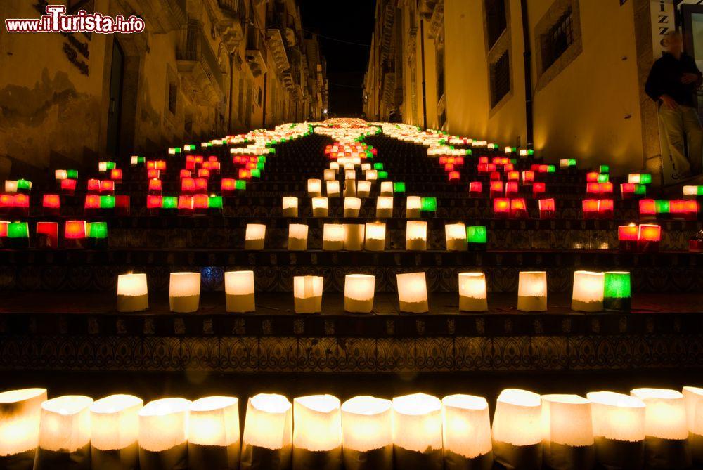La Luminaria, la scala illuminata Caltagirone