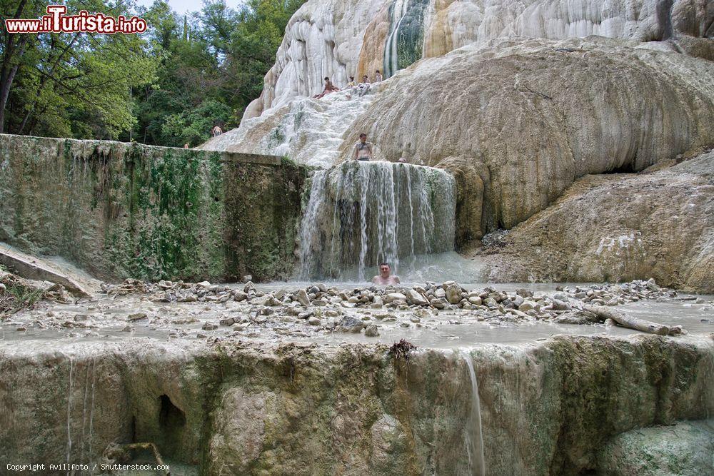Cascate Termali A BAgni San Filippo In Toscana