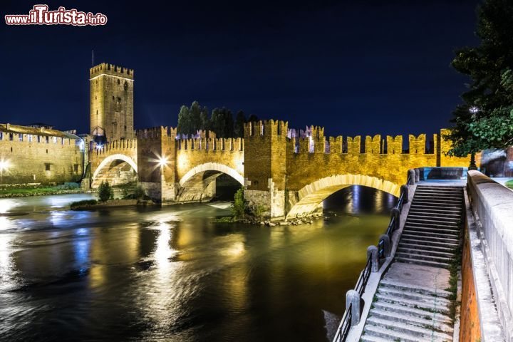 Castel vecchio a Verona nella parte medievale | Foto