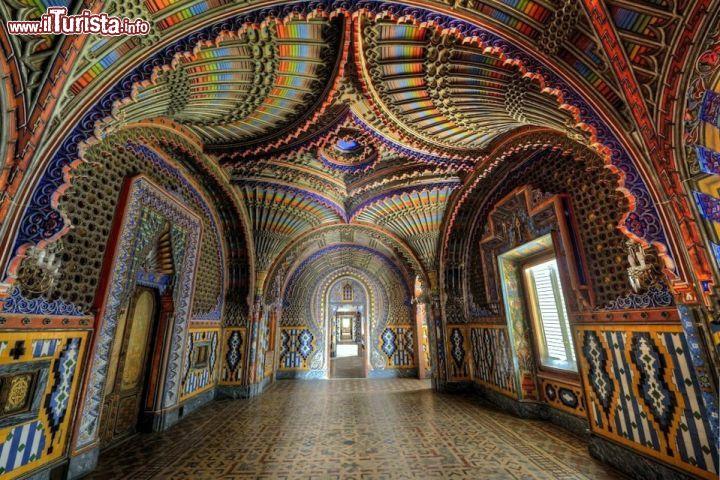 Reggello toscana visitare il castello di sammezzano for Interno 4 montichiari