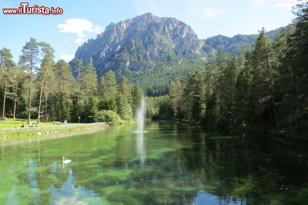 Laghetto naturale di creta presso l 39 albergo foto san for Laghetto naturale