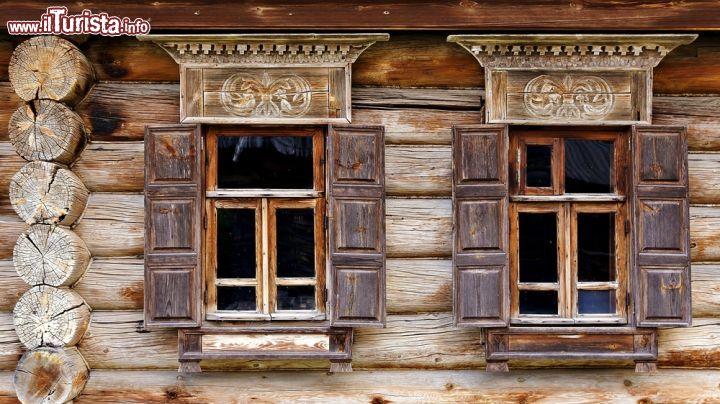 Dettaglio di una casa al museo delle architetture for Ottenere una casa costruita