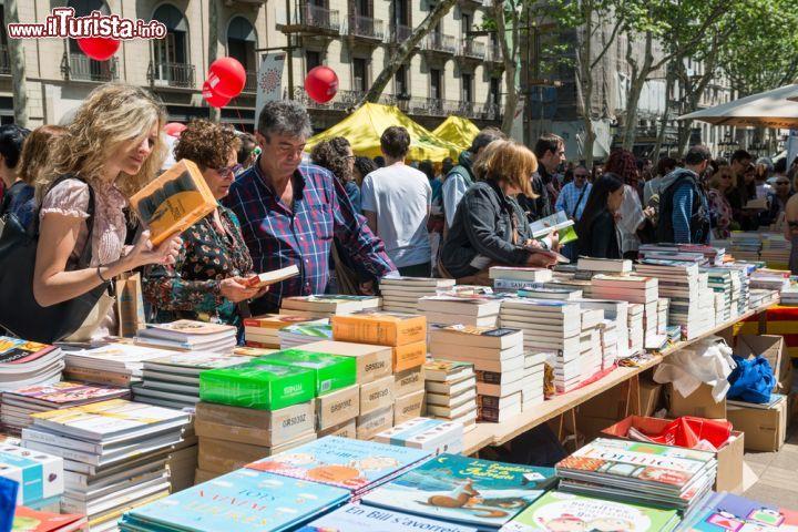 Diada de Sant Jordi Barcellona