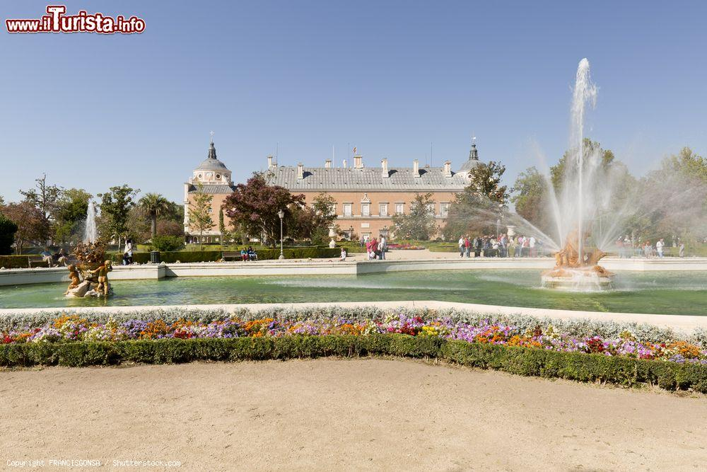 Giochi D Acqua Fontane E Sculture Nei Giardini Foto Aranjuez