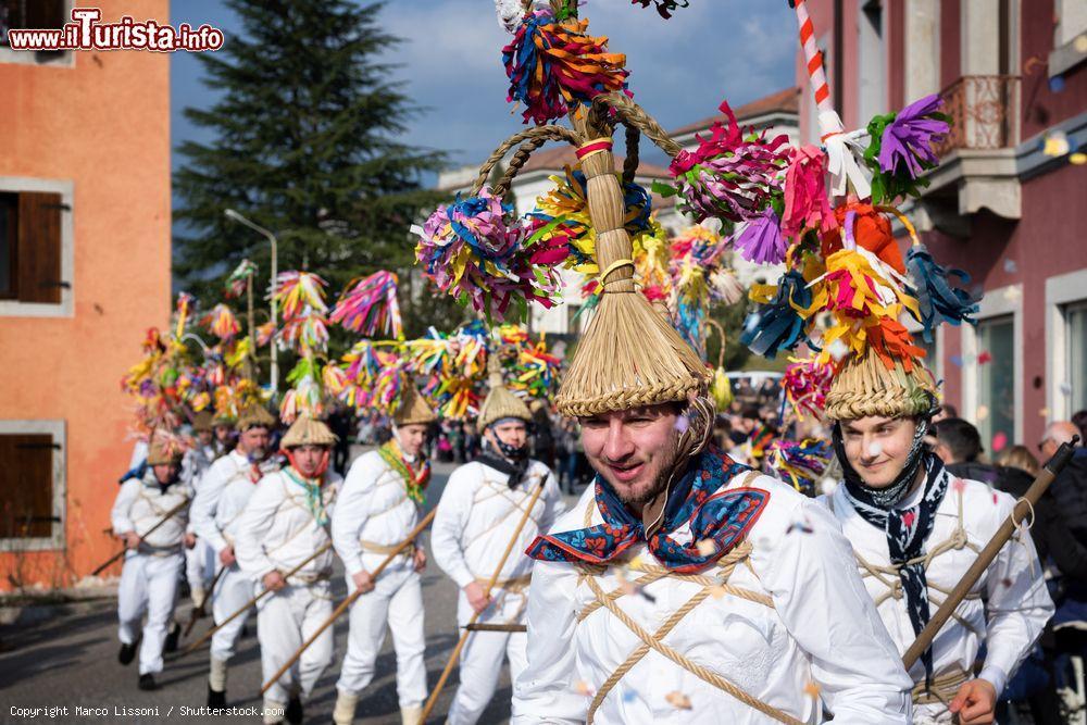 I Blumarji e il carnevale di Montefosca Pulfero