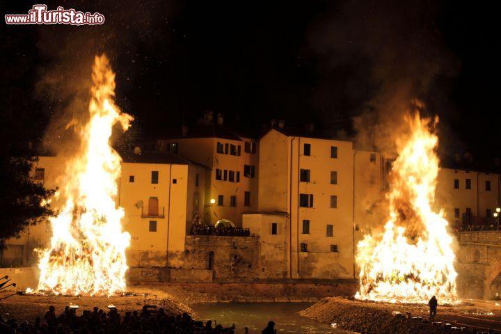 Festa del Falò Rocca San Casciano