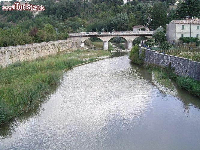 Il fiume metauro fotografato a sant 39 angelo foto sant for Marini arredamenti sant angelo in vado